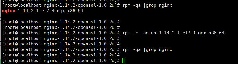 Centos7下Nginx-1.14.2-openssl-1.0.2u离线rpm安装包